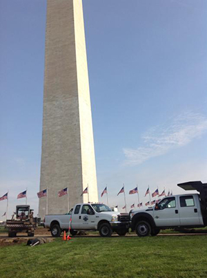 Washington Monument Sod replacement